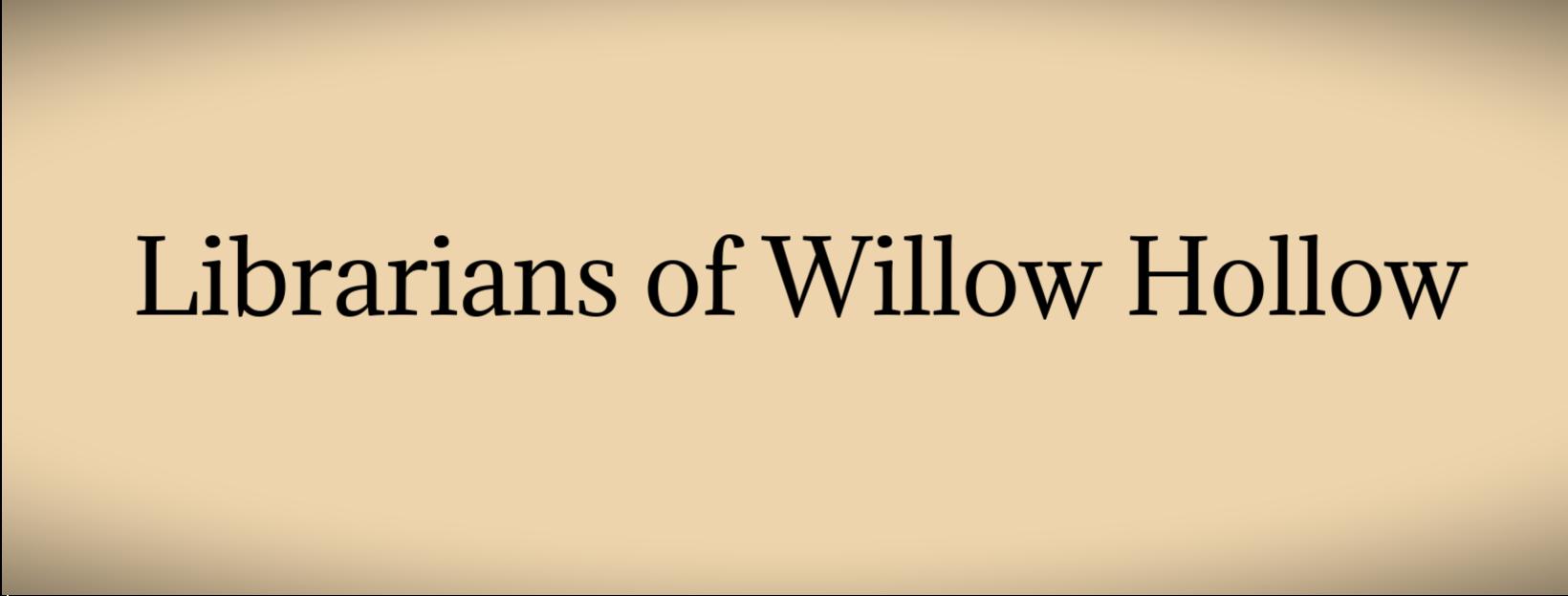 Willow Hollow Series blog copy